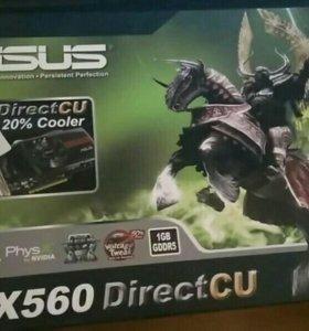 Видеокарта Asus gtx560