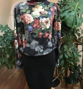 Платье трикотажное ELIS