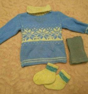 Свитер,носки,колготы