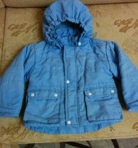 Куртка демисезонная р-р 80