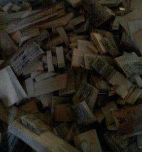 Дрова отходы ящечного производства