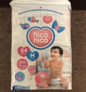 Японские памперсы Nico Nico