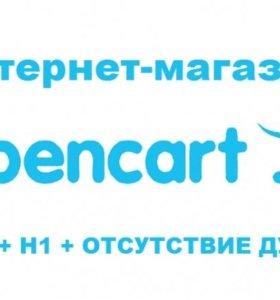 Создание интернет-магазин на Opencartg