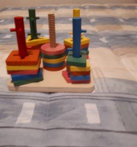 Пирамидка-головоломка