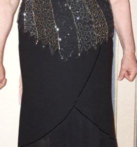 Вечерная юбка с блузкой