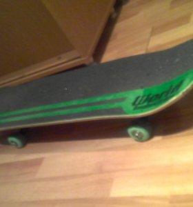 скейтборд + защитой
