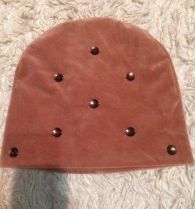 Новая шапка велюр