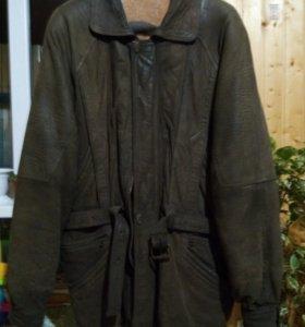 Куртка набук, зима