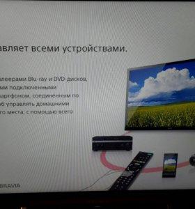 ЖК телевизор SONY 60 см диагональ,