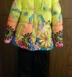 Зимняя куртка для дев. и болоньевые брюки