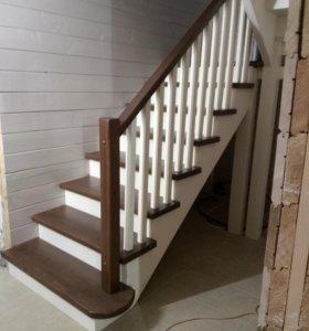 Деревянные лестницы,отделка дома