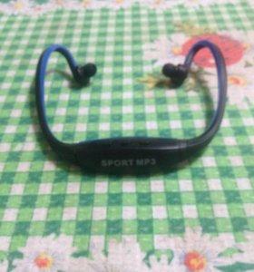 MP3 плеер, встроенный в наушники