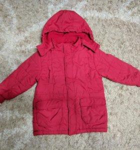 Куртка на синтепоне и комбинезон