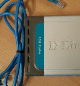 Модем D-Link DSL-500T