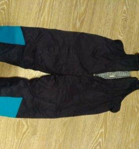 Зимнии Болоньевые штаны