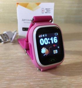 Детские часы baby smart watch Q80 новые оригинал