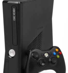Xbox 360 slim 250gb без геймпада + Kinect