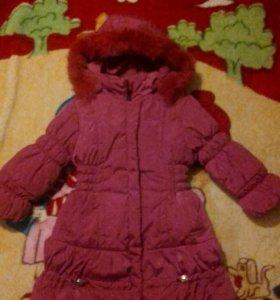 Куртка- пальто размер 104.
