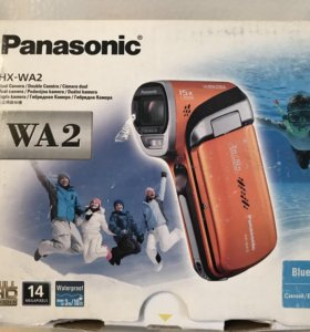12 Камера Panasonic HX-WA2EE-A Blue