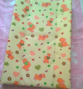 Пеленальная доска накладка на кроватку