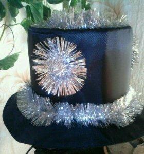 Шляпа новогодняя