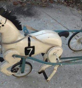 Лошадка педальная времён СССР