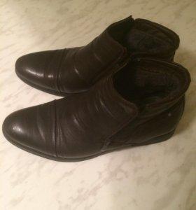 Зимние туфли в хорошем состоянии