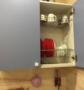 Мебель для кухни с раковиной металлической