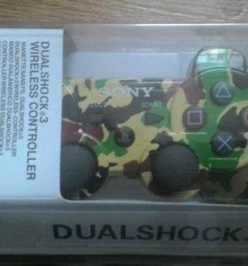 Джойстики  Dual shock 3 на PS3. Разные цвета.