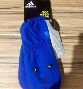 Перчатки краги Адидас для малышей