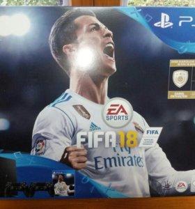 Новая Sony PS4 slim Fifa18