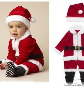 Новогодний костюм Санта Клаус р.62-68 Mothercare