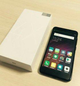 Смартфон Xiaomi Redmi 4X (черный)