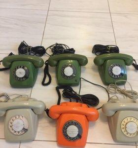 Телефоны старинные , новые