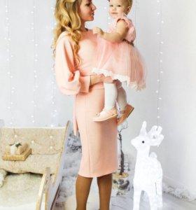Платья Мама+дочь