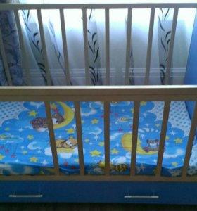 Кроватка для мальчика