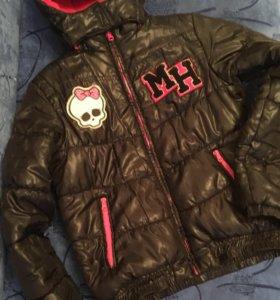 Курточка демисезонная Monster High,свитшот Monster