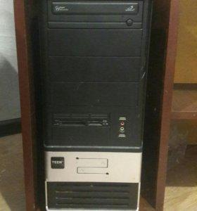 Компьютер,полный комплект.