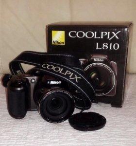 Компактный фотоаппарат Nikon Coolpix L810