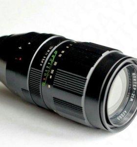 Для Canon : Юпитер 21М  200mm /f4 с чипом