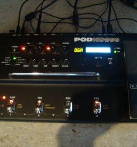 Процессор гитарный line6 pod hd300