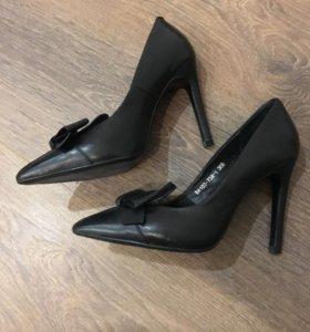Туфли, натуральная кожа, размер 35