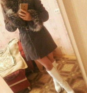 Зимняя одежда ( куртка,шапка,перчатки)