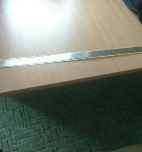 Металлическая линейка 1 метр