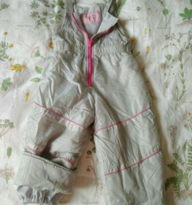 Зимние штаны р 92-98