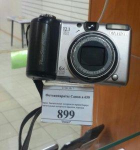 Фотоаппарат Canon a650