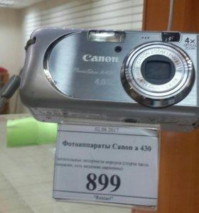 Фотоаппарат Canon a430