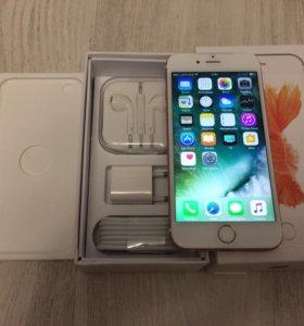apple iphone 6s rosegold 16 как новый
