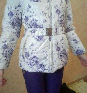 Куртка зимняя детская luhta+брюки
