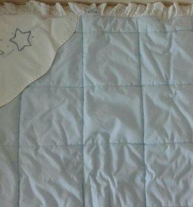 Конверт и одеяло для новорожденных